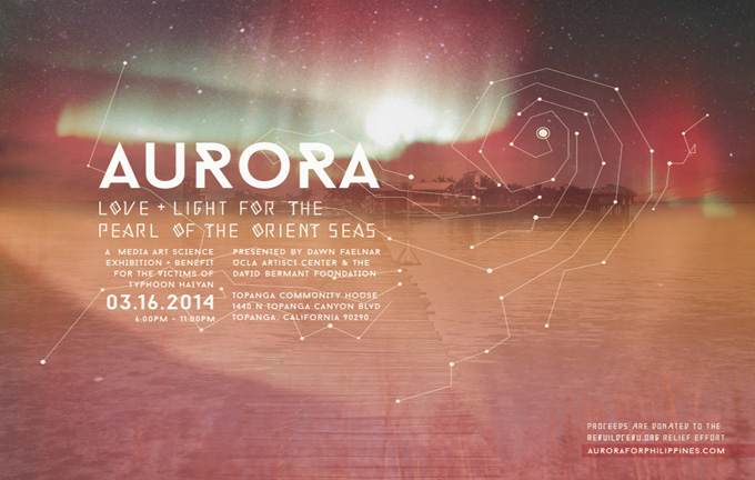 AURORA: An Exhibition+Benefit for the Victims of Typhoon Haiyan